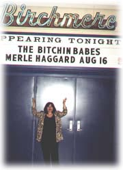 """wow! my name up on the marquee. who's that merle guy?"""
